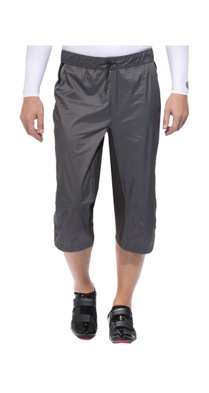 Protective Rain Short fietsbroek kort Full Zip, Short grijs